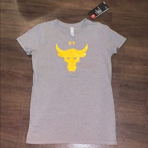 NWT Under Armour Project Rock shirt